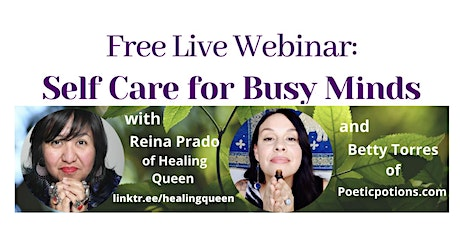 Self Care for Busy Minds (Free Webinar) tickets