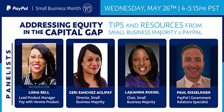 Addressing Equity in the Capital Gap tickets