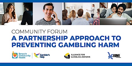 Minimising gambling harm through community partnerships tickets
