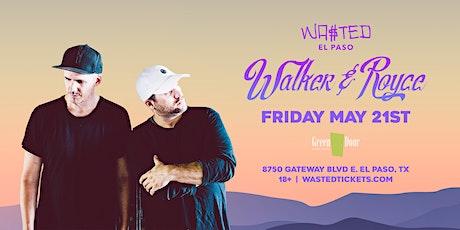El Paso: Walker & Royce @ Green Door [18 & Over] boletos