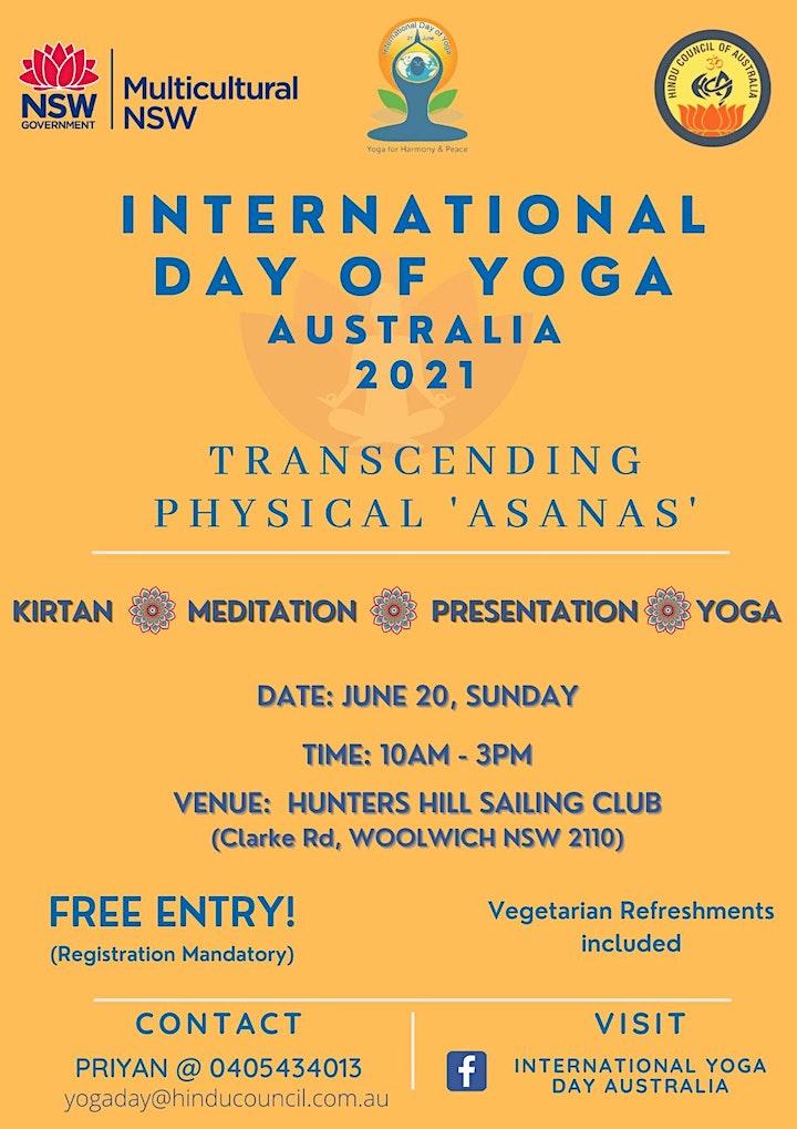 International Yoga Day Australia  2021 image
