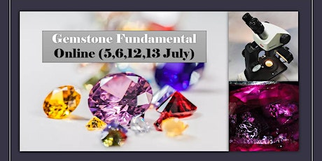 Online Gemstone  Workshop (5,6,12,13 May) ($230- SkillsF Claimable) Tickets