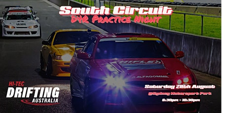 HTDA Saturday Night South Circuit - D4R Practice Night tickets