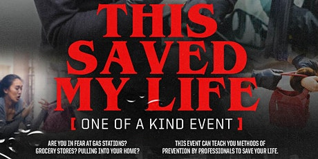 This Saved My Life tickets