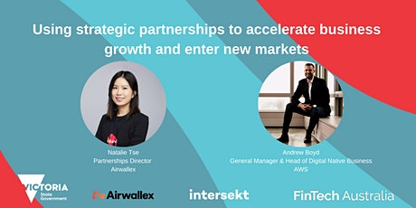 Using strategic partnerships to accelerate growth and enter new market tickets