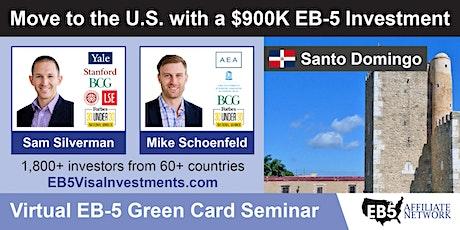 U.S. Green Card Virtual Seminar – Santo Domingo, Dominican Republic ingressos