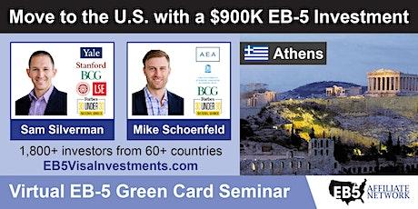 U.S. Green Card Virtual Seminar – Athens, Greece tickets