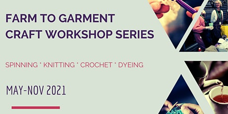 Farm to Garment Craft Workshop #1: Spinning tickets