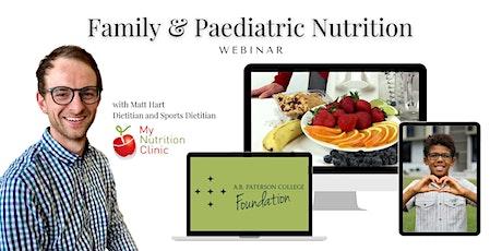 Foundation Webinar Series - Paediatric Nutrition tickets
