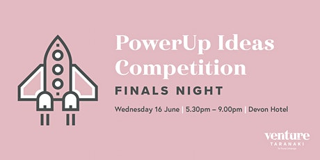 PowerUp Ideas Competition Finals Night tickets
