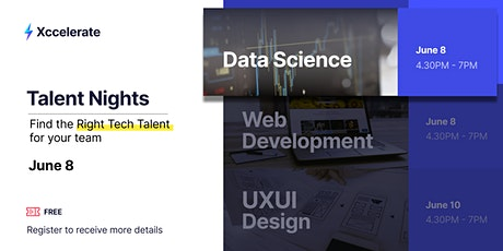 Data Science Talent Night: Finding the Right Data Talent for You tickets
