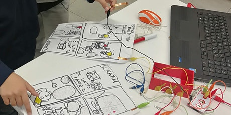 Laboratorio creativo con scratch e Makey Makey biglietti