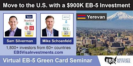 U.S. Green Card Virtual Seminar – Yerevan, Armenia biglietti