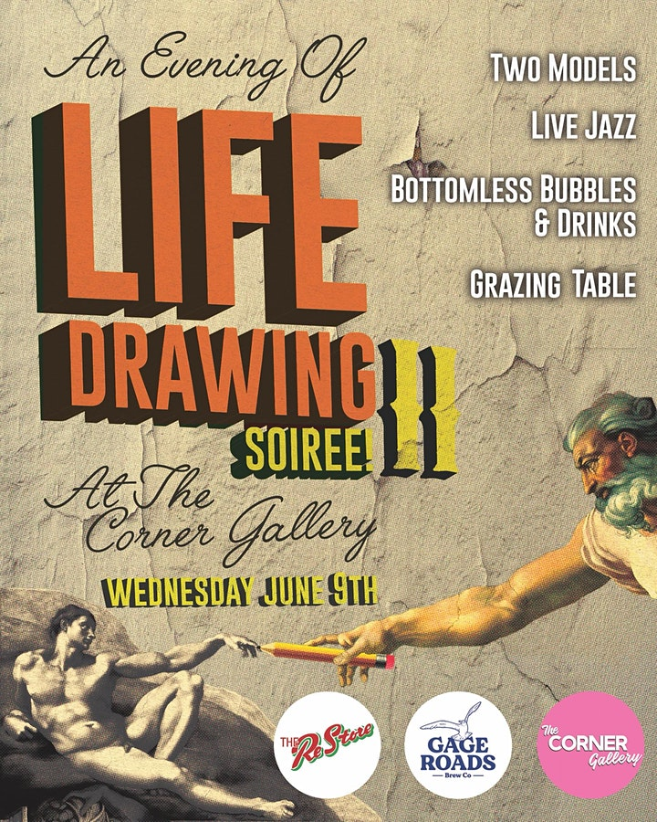 Evenings Of Life Drawing At The Corner Gallery SOIREÉ image