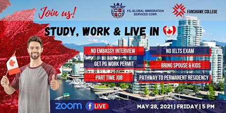 Sudy Work Live in Canada with Fanshawe College tickets