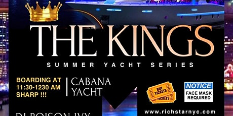 THE KINGS SUMMER YACHT SERIES tickets