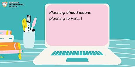 Enterprising Women Livestream: Planning ahead = Planning to win tickets