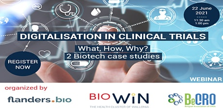 """Webinar """"Digitalisation in clinical trials: what, how, why?"""" tickets"""