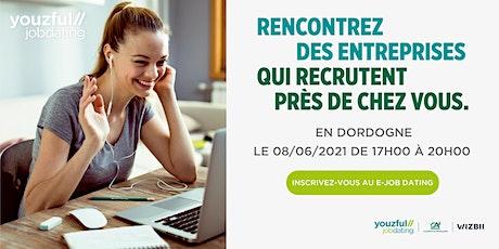 E-Job Dating en Dordogne : décrochez un emploi ! billets