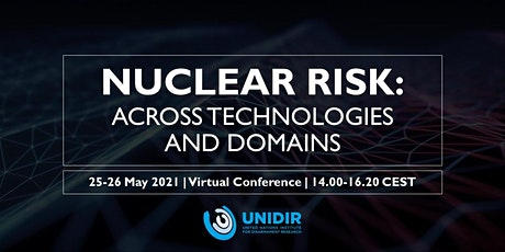Nuclear Risk: Across Technologies and Domains bilhetes