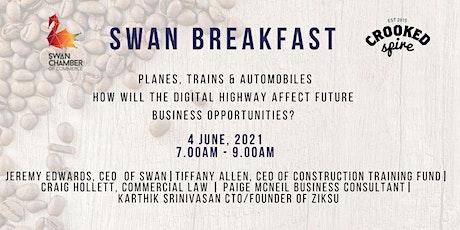 Swan Breakfast @ The Crooked Spire Coffee & Art House tickets