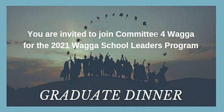 Wagga School Leaders Program Graduation 2021 tickets