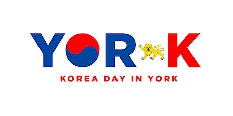 Yor-K: Korea Day in York tickets