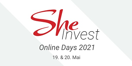 SHEinvest Online Days am 19. & 20. Mai 2021 Tickets