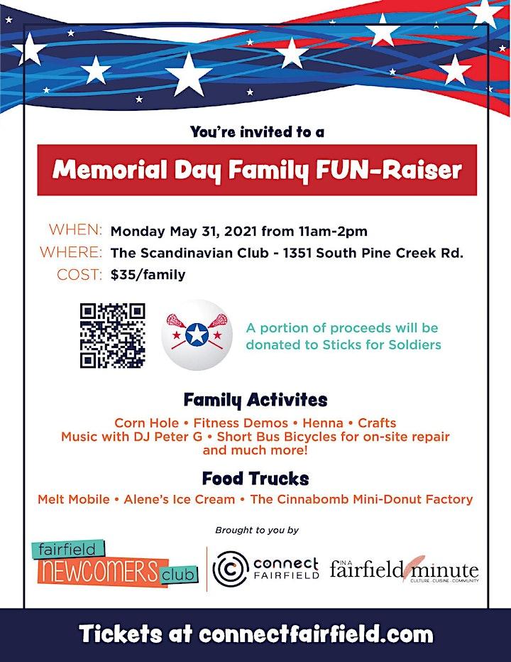 Memorial Day Family FUN-RAISER image