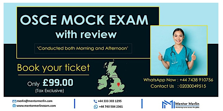 Mentor Merlin - NMC OSCE MOCK EXAM with reviews image