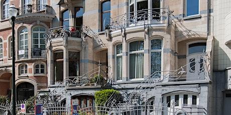 La Libre Explore: Le quartier des Etangs d'Ixelles - Art nouveau et Art Déc billets