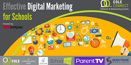 Cole Connect Seminar - Effective Digital Marketing for Schools tickets