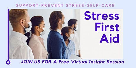 Stress First Aid tickets