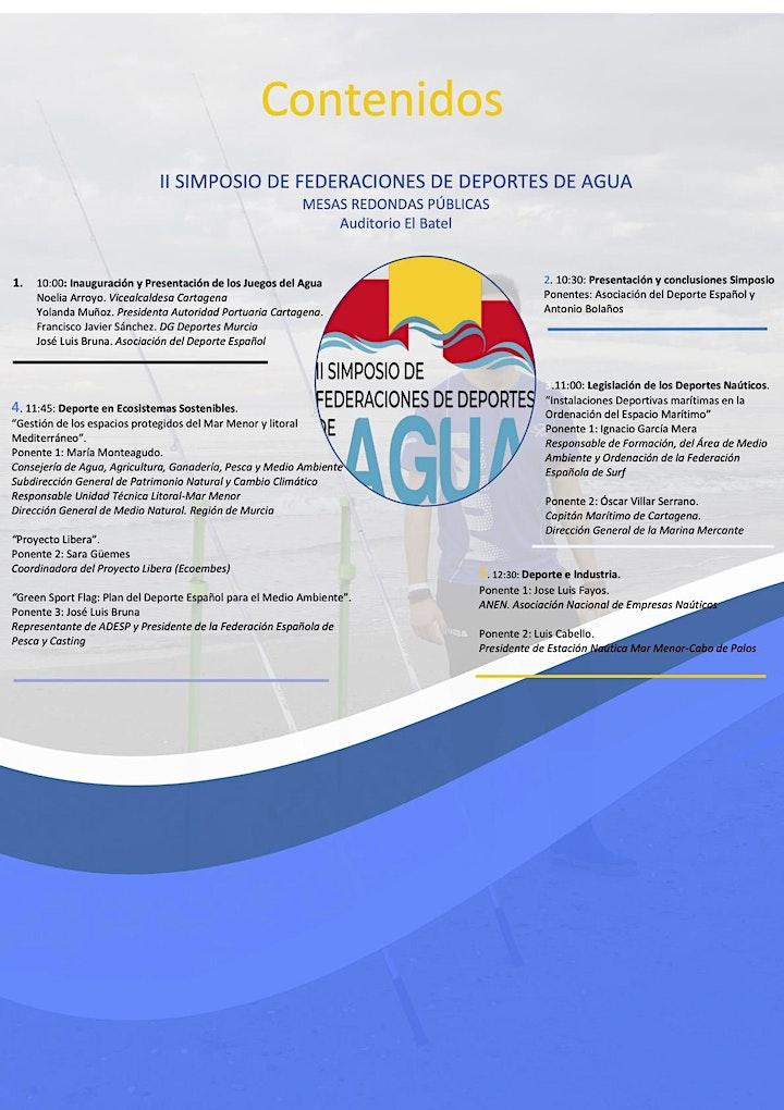 Imagen de II Simposio de Federaciones de Deportes de Agua
