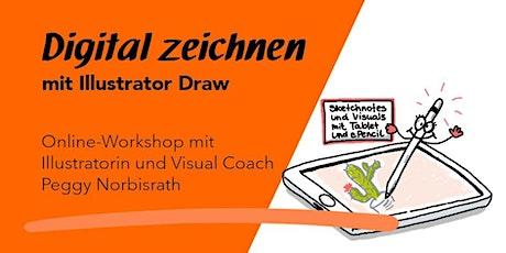 """Online-Workshop 1 """"Digital zeichnen mit Illustrator Draw"""" tickets"""