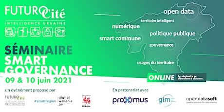 Séminaire Smart Gouvernance Tickets
