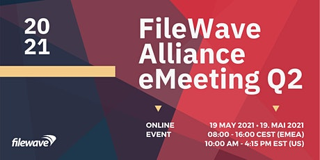 FileWave Alliance eMeeting Q2 2021 tickets