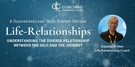 Conversations That Matter: Life-Relationships tickets