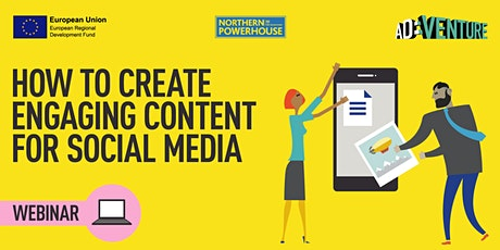 ADVENTURE Workshop -How to Create Engaging Content for Social Media tickets