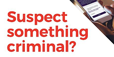 Watch Scheme Crimestoppers Workshop tickets