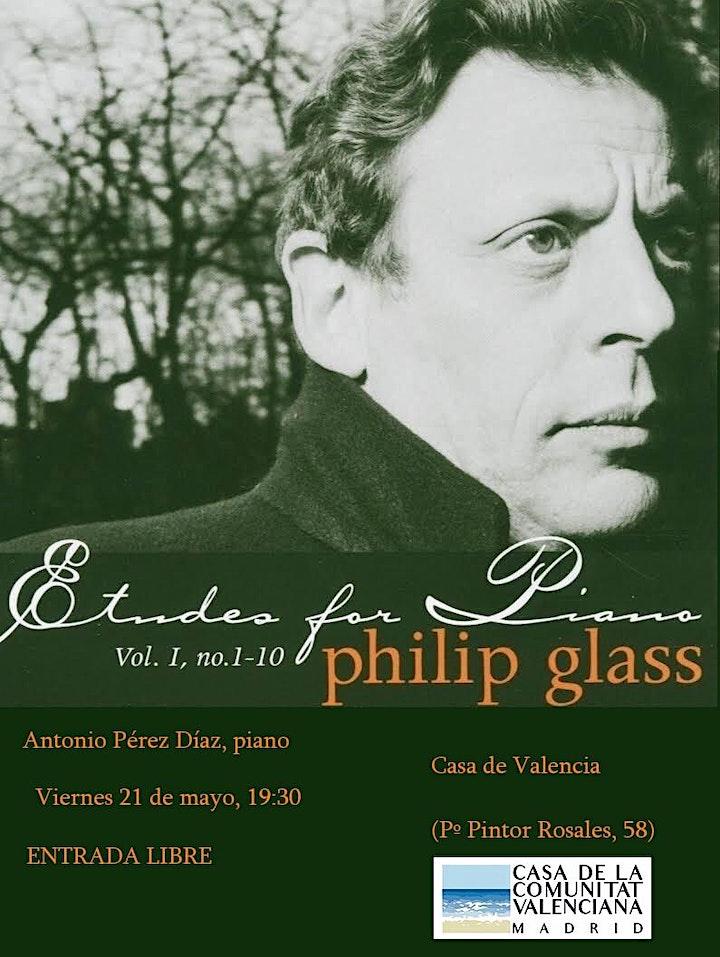 Imagen de Recital Philip Glass
