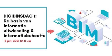 DigiDinsdag 1: De basis van informatie uitwisseling & informatiebehoefte tickets