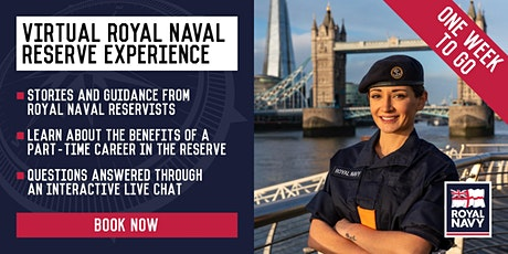 Virtual Royal Naval Reserve Experience - Central and Greater London Units tickets