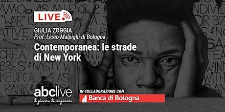 Giulia Zoggia - Contemporanea: le strade di New York biglietti