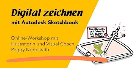 """Online-Workshop 2 """"Digital zeichnen mit Autodesk Sketchbook"""" Tickets"""