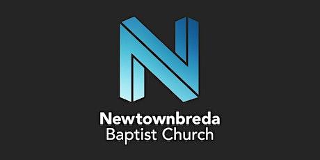 Newtownbreda Baptist Church  Sunday 23rd May  EVENING Service @ 5.15 pm tickets