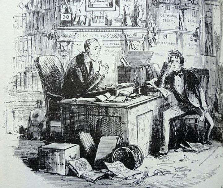 Dickens and His Illustrators image
