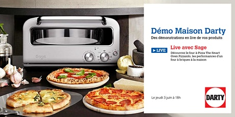 Masterclass Pizza Sage Appliances x Darty billets