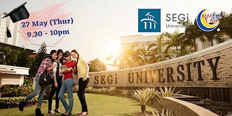 [Education Showcase] SEGi University tickets