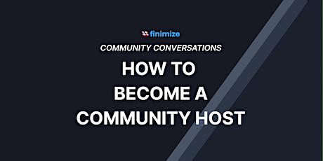 Community Host Training Program tickets